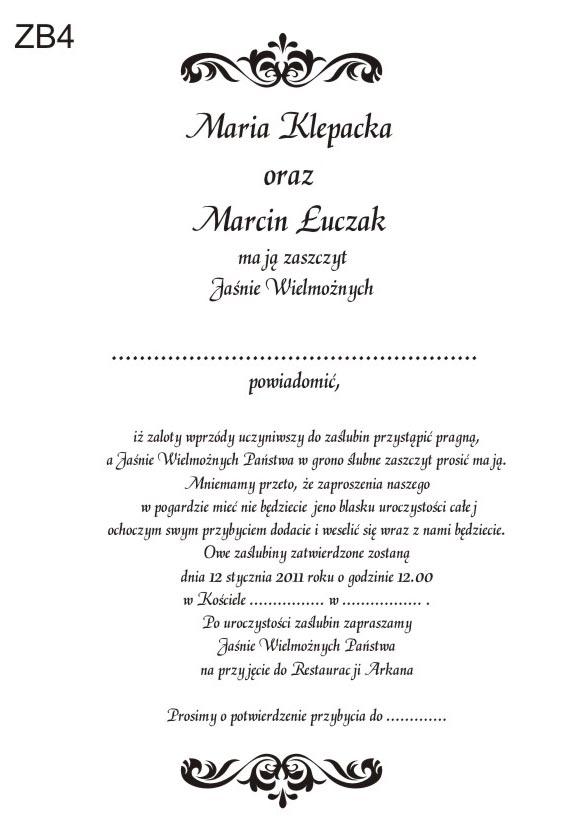 Zabawne śmieszne Zaproszenia ślubne Personalizacja Gratis